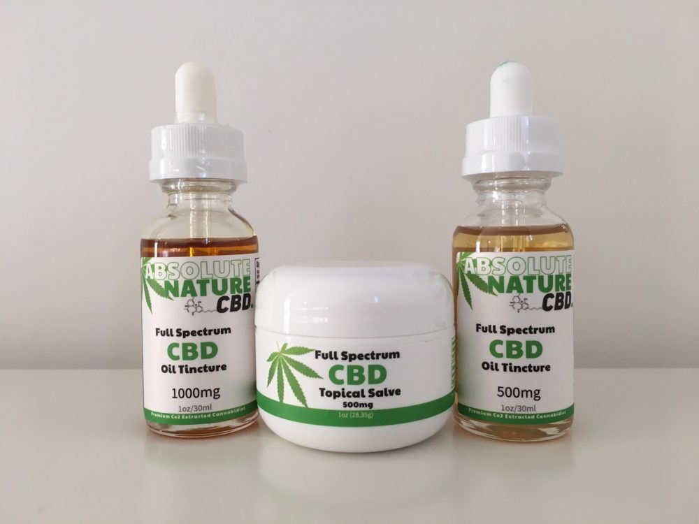 Absolute Nature CBD - Full Spectrum CBD Oil Products Review - 2019 -  ClearCogni